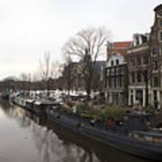 Canals Of Jordaan Art Print