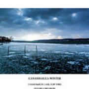 Canandaigua Lake Winter Art Print