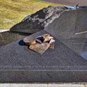 Canberra Veterans Statue Art Print