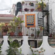 Cancun City Scenes Art Print