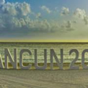 Cancun In 2015 Art Print