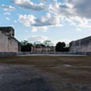 Cancun Mexico - Chichen Itza - Great Ball Court - Open End Art Print