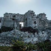 Cancun Mexico - Tulum Ruins - Palace Art Print