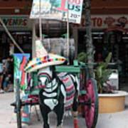 Cancun Mexico - Tulum Ruins - Souvenirs Art Print