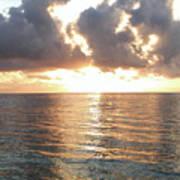 Cancun Sunrise Art Print