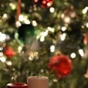 Candles For Christmas 4 Art Print