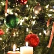 Candles For Christmas 5 Art Print