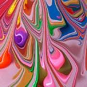 Candy Melt Art Print