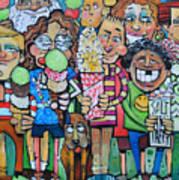 Candy Store Kids Art Print