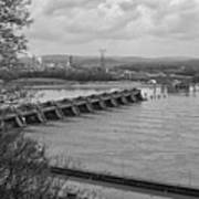 Cannelton Locks And Dam Art Print