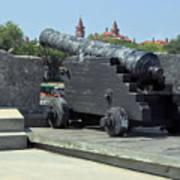 Cannon At The Castillo Art Print