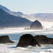Cannon Beach On The Oregon Coast Art Print