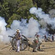 Cannon Fire 1 Art Print