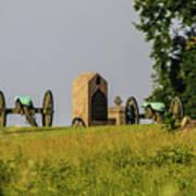 Cannons Behind Hancock Avenue Art Print