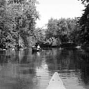 Canoe Joy Art Print