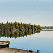 Canoe The Massassauga Art Print