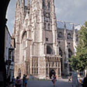 Canterbury Cathedral England Art Print