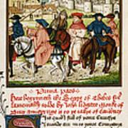 Canterbury Pilgrims Art Print