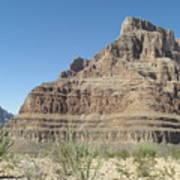 Canyon Base At The Grand Canyon Art Print