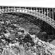 Canyon Bridge Art Print