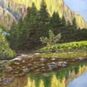 Canyon Creek Art Print