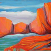 Canyon Dreams 14 Art Print