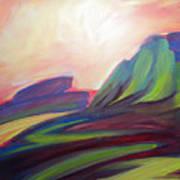 Canyon Dreams Sunset Art Print