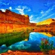 Canyon Glories Art Print