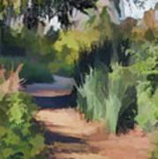 Canyon Path II Painterly Art Print