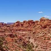 Canyonlands National Park - Big Spring Canyon Overlook Art Print