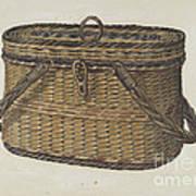Cap Basket Art Print