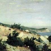 Cape Ai-todor Crimea 1879 21h33 5 Ivan Ivanovich Shishkin Art Print