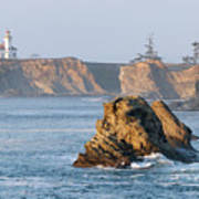 Cape Arago Lighthouse Art Print