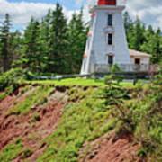 Cape Bear Lighthouse - 2 Art Print