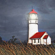 Cape Blanco Glow Art Print