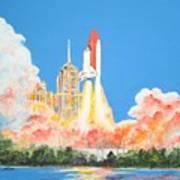 Cape Canaveral Art Print