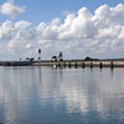 Cape Canaveral Locks In Florida Art Print