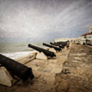Cape Coast Castle Art Print