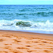 Cape Cod Beach Day Art Print
