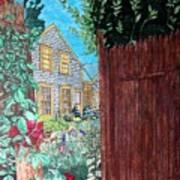 Cape Cod Cottage Art Print