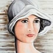 Cape Cod Girl Art Print