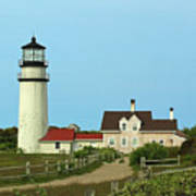Cape Cod Highland Lighthouse Art Print by Juergen Roth