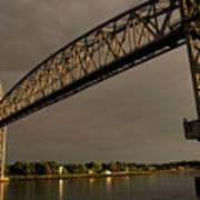 Cape Cod Train Bridge Art Print