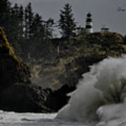 Cape Disappointment Finale Art Print