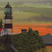 Cape Disappointment Art Print by James Lyman