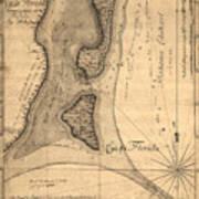 Cape Florida 1765 Art Print