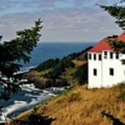 Cape Foulweather Point Art Print
