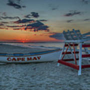 Cape May At Sunrise - Cape May New Jersey Art Print