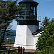 Cape Meares Lighthouse Li 100 Art Print