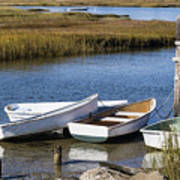 Cape Rowboats Art Print